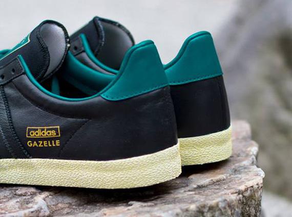 adidas gazelle grey leather adidas gazelle og green black