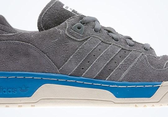 adidas Originals Rivalry Low – Grey – Blue