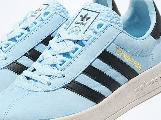 adidas Originals Trimm Trab – Argentina Blue – Legend Ink