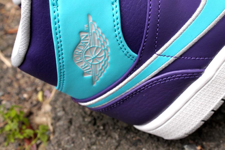Nike Air Jordan En Mid Domstol Lilla Og Gamma Blå v1LjFG7A