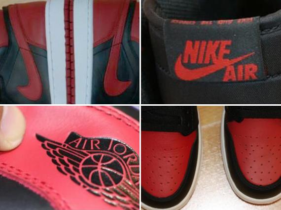 Air Jordan 1 Mi Réel Vs Yeezys Faux