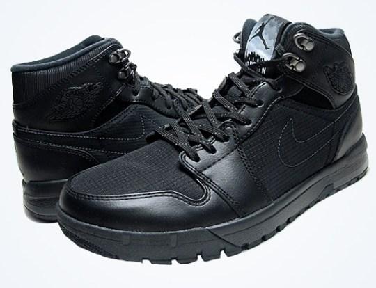 Air Jordan 1 Trek – Black – Anthracite