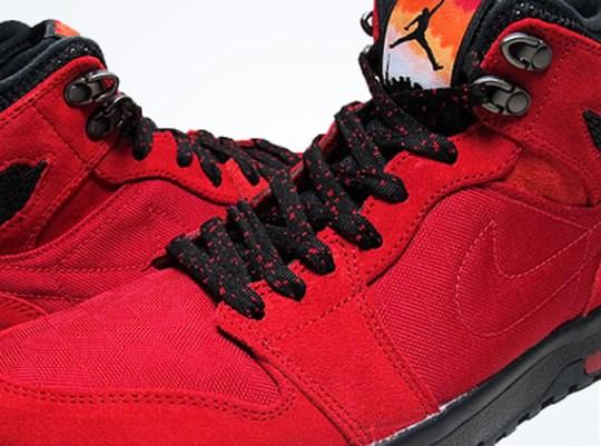Air Jordan 1 Trek – Gym Red – Black – Anthracite