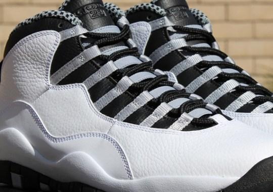 """Air Jordan 10 """"Steel"""" – Release Reminder"""