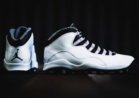 """Air Jordan 10 """"Steel"""" – Arriving at Retailers"""