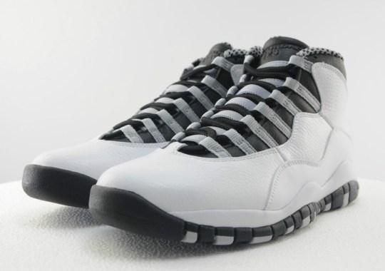 "Air Jordan 10 ""Steel"" – Available Early on eBay"
