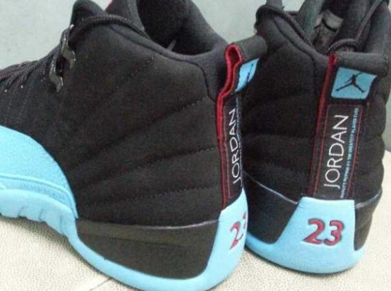 cb6a25f95e8 Air Jordan 12 GS - Black - Gamma Blue - SneakerNews.com