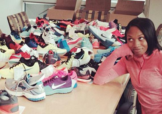 Allyson Felix Previews Upcoming Nike
