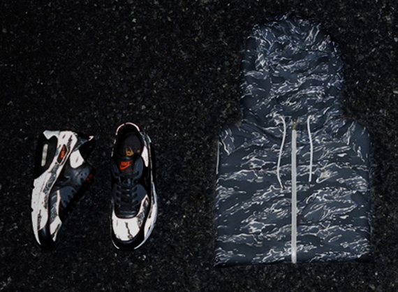 Nike Air Max 90 X Atmos Black Tiger Camo