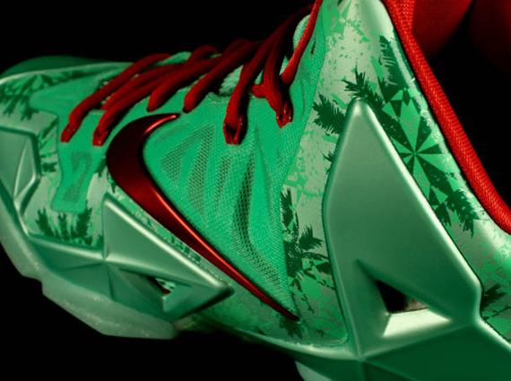 christmas nike lebron 11 sneakernewscom - Christmas Lebron 11
