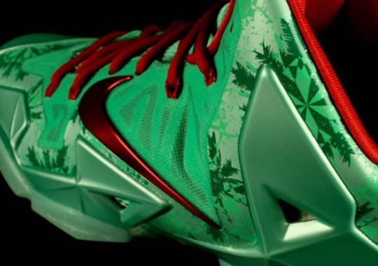 """""""Christmas"""" Nike LeBron 11"""