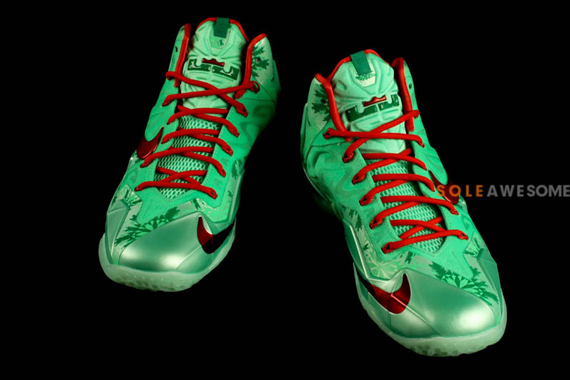 quotchristmasquot nike lebron 11 sneakernewscom