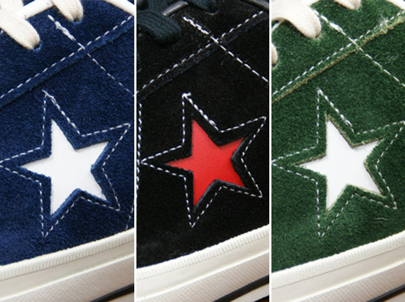 converse one star j suede