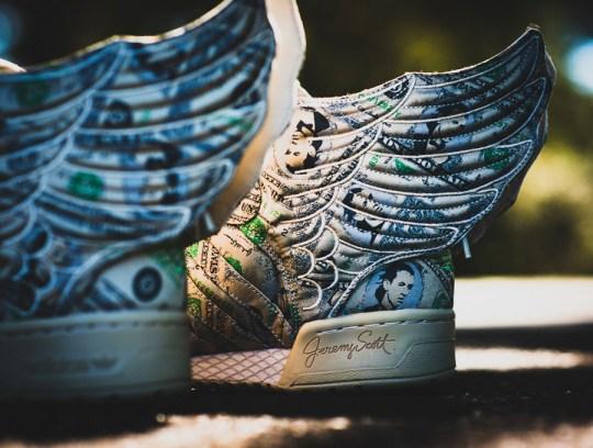 "Jeremy Scott x adidas Originals Wings 2.0 ""Dollars"" – Available"