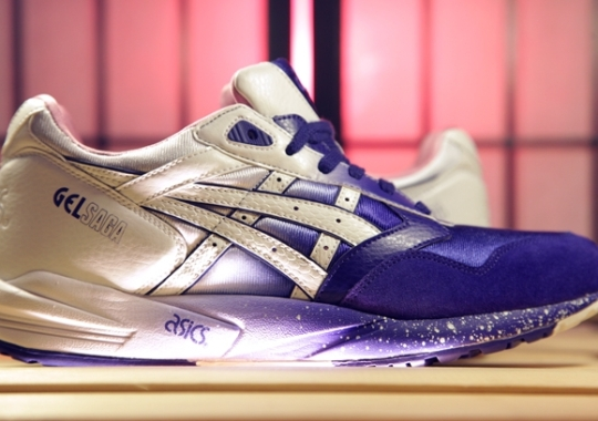 "Extra Butter x Asics Gel Saga ""Cottonmouth"" – Release Date + New Retail Location"