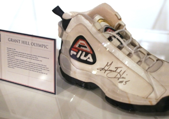 Fila Grant Hill Olympic Sneakers Inducted Into Bata Shoe Museum