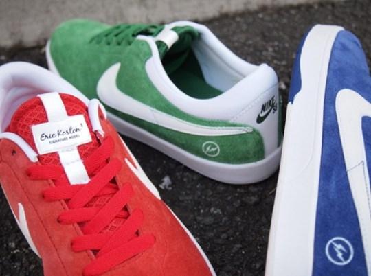 fragment design x Nike SB Koston One – New Colorways
