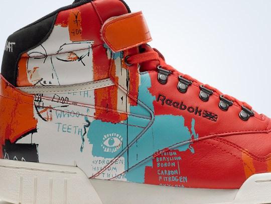 Jean-Michel Basquiat x Reebok Classics – Fall/Winter 2013 Collection