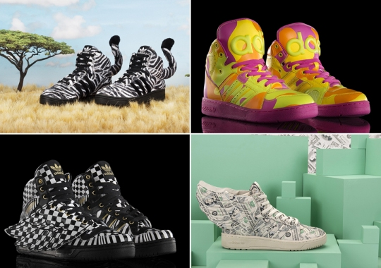 adidas Originals Introduces Jeremy Scott Fall/Winter 2013 Collection