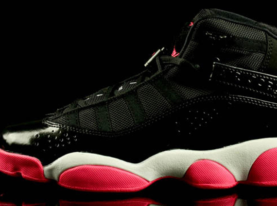 check out 7aaa2 c282b Jordan 6 Rings GS - Black - Spark - SneakerNews.com