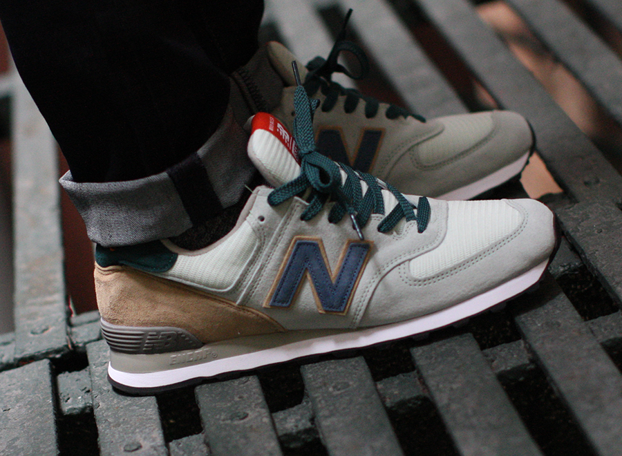 new balance 574 custom by sneaker news sneakernewscom