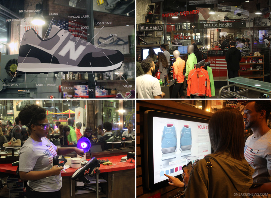 the new balance store