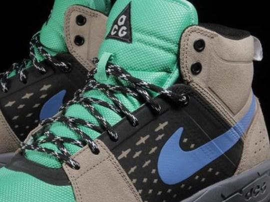 Nike ACG Alder Mid – Khaki – Gamma Green – Black – Distance Blue