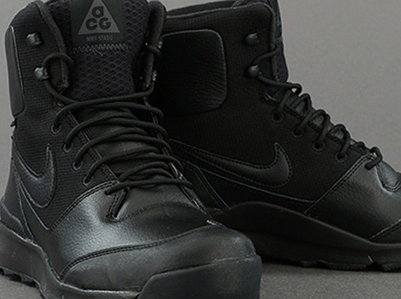 black and pink acg boots