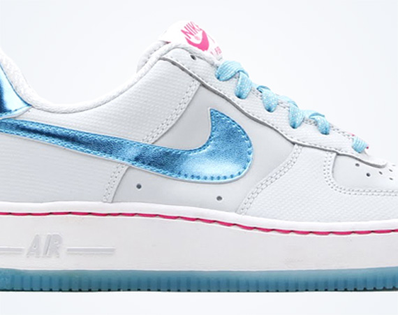 timeless design 64f08 d9f46 ... Gamma Photo Blue KIDS NEW AF1  December looks to be a good month to get  your kids into some new Air Force  Nike ...