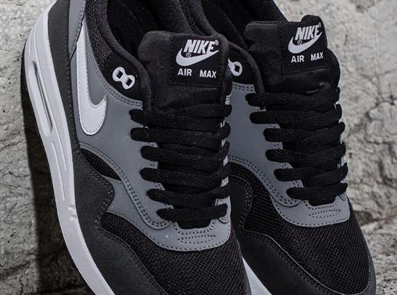 edabce839e Nike Air Max 1 Essential - Black - Geyser Grey - Cool Grey ...