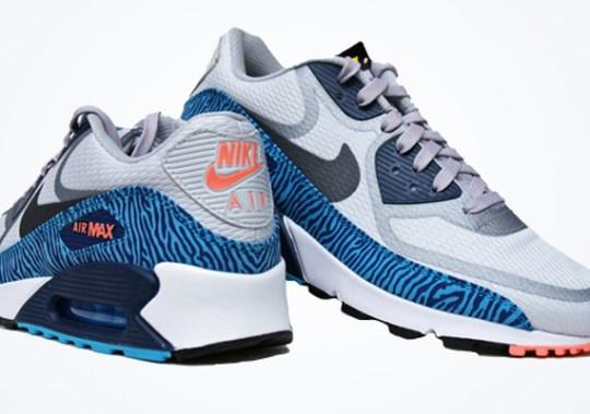 Nike Air Max 90 PRM CMFT Tape – Grey – Gamma Blue