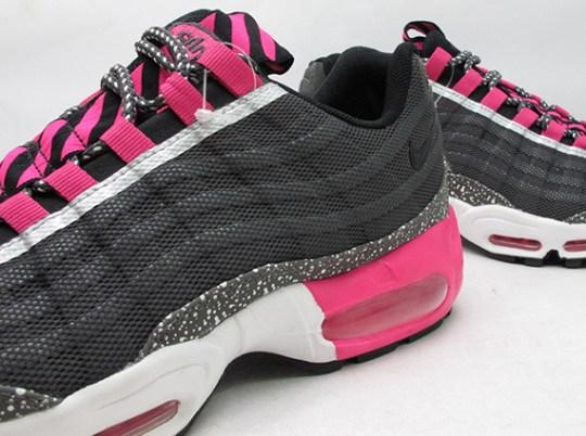Nike Air Max 95 Premium Tape – Black – Silver – Pink