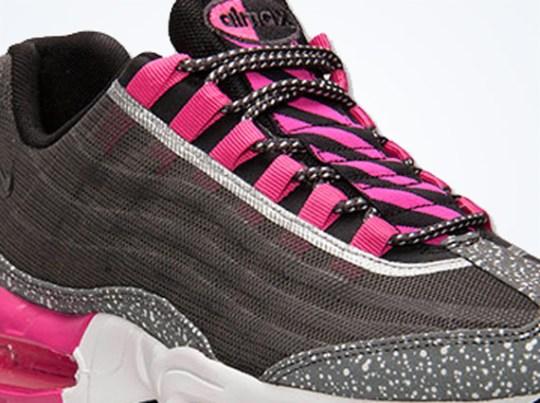 Nike Air Max 95 Premium Tape – Midnight Fog – Black – Pink Foil