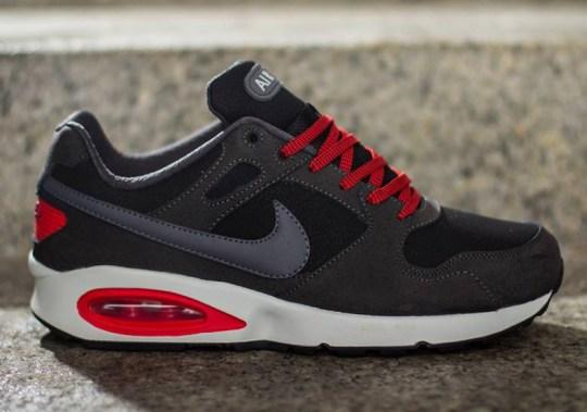 Nike Air Max Coliseum Racer LTH – Black – University Red – Grey