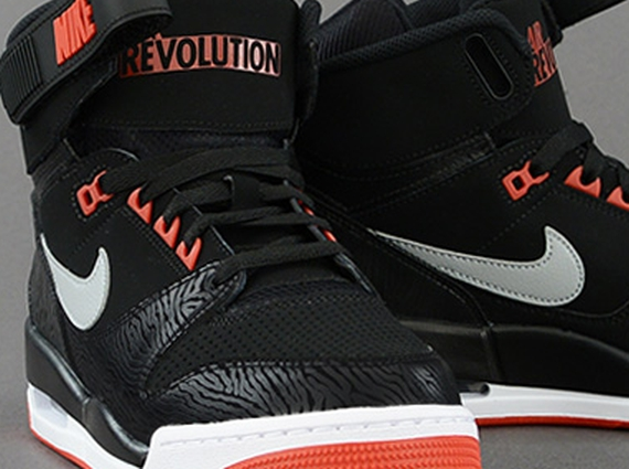 Nike Air Revolution - Black Zebra - University Red - SneakerNews.com 2395d7aaa