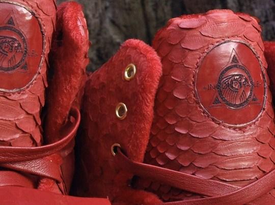 "Nike Air Yeezy 1 ""Red October"" by JBF Customs"