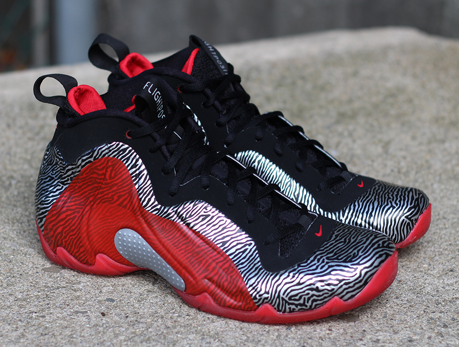 finest selection a98b8 5ca0f ... spain nike air flightposite exposed zebra arriving at retailers  sneakernews 2ee82 4c0e4