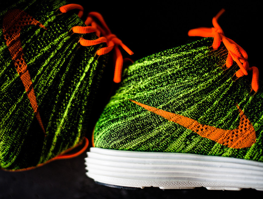 separation shoes 1bf80 0b1f7 Nike Flyknit Chukka - Parachute Gold - Total Orange   Available -  SneakerNews.com