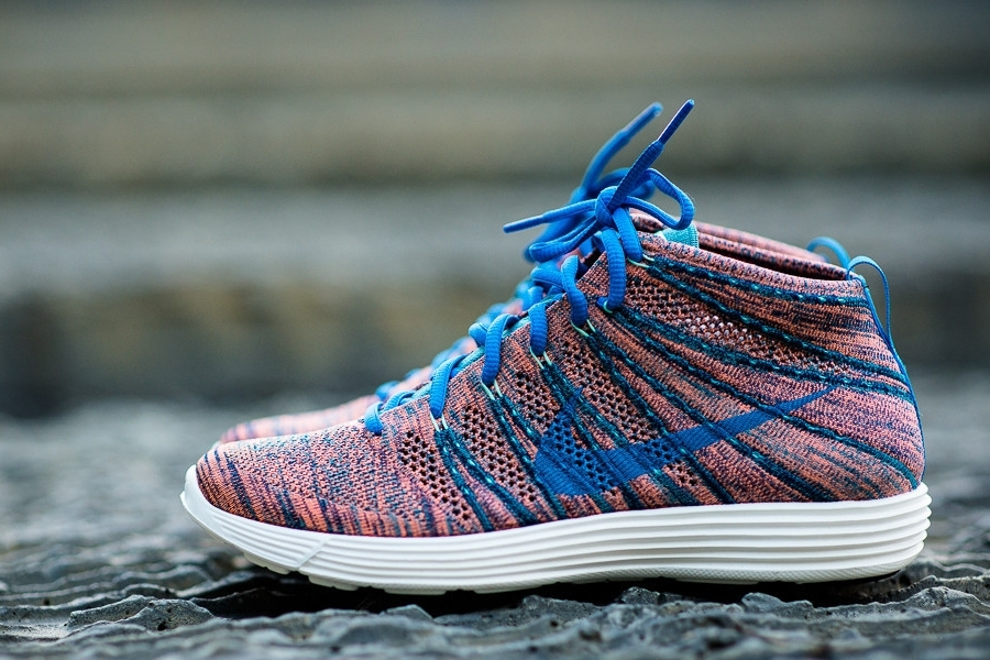 937b3bbda7c7 ... clearance nike flyknit chukka photo blue mineral teal green glow  available sneakernews ddc87 2f145