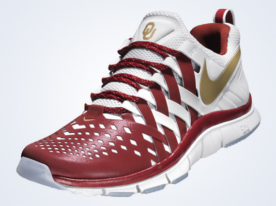 Nike Free Trainer 5.0 Sooners 2018 Oklahoma