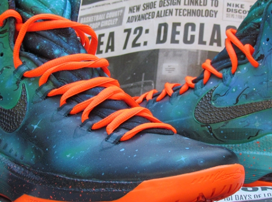 "Nike KD 5 ""Area 72 Remix"" by JustWin Customs"