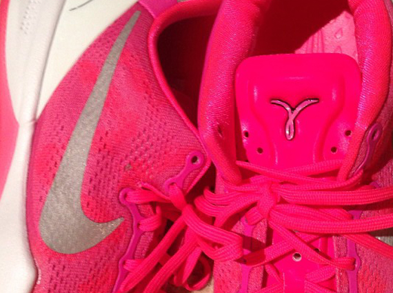 "buy online 508c6 ebc60 Nike Kobe 8 ""Think Pink"""