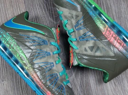 "Nike LeBron X Low ""Reptile"" – Release Date"