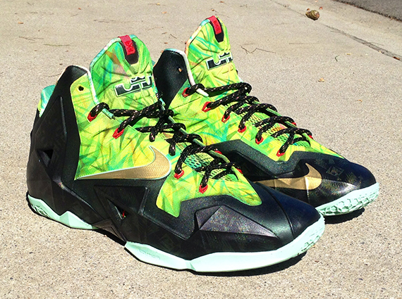 "Nike LeBron 11 ""Championship"" by Lancer Customs ...Lebron 11 Customize Ideas"