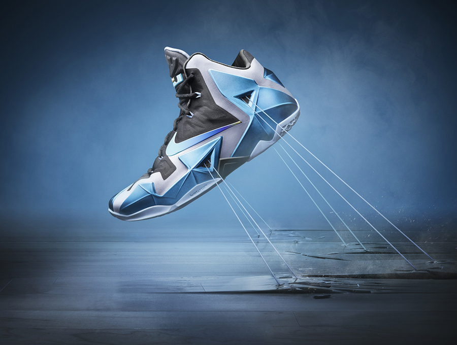 "Nike LeBron 11 ""Gamma Blue"" - Officially Unveiled ..."