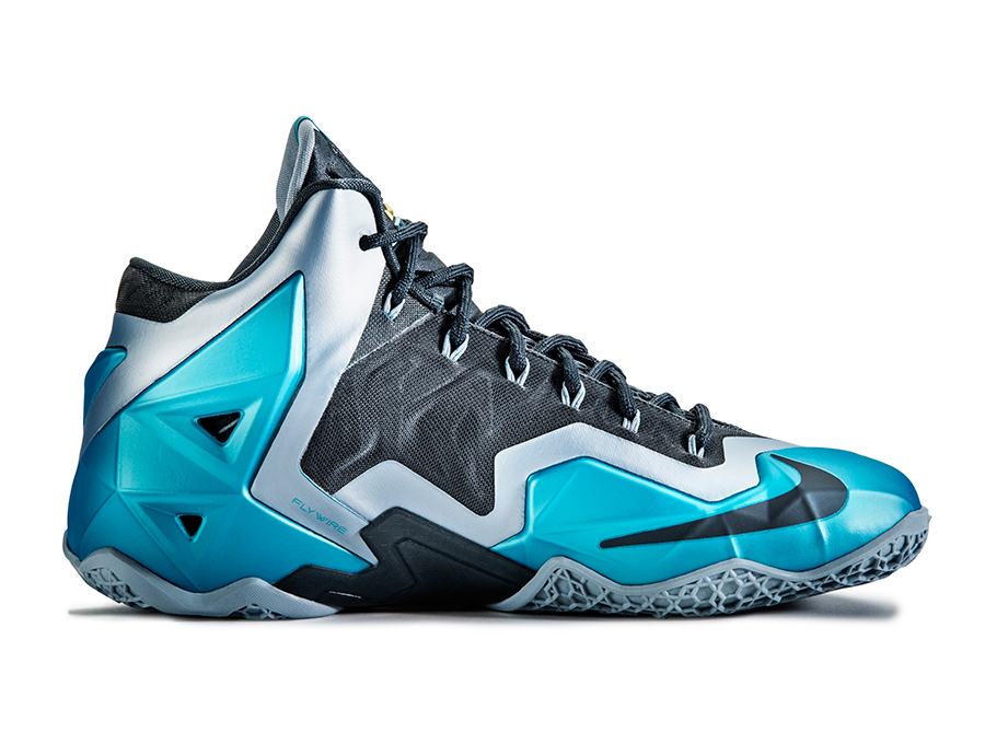 Nike Lebron 11 Quot Gamma Blue Quot Officially Unveiled