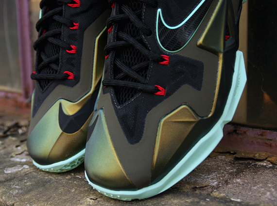 lebron kings pride. tomorrow marks the official release of lebron 11 via this \u201cking\u0027s pride\u201d colorway. that first parachute gold version his shoe is one plays off lebron kings pride b