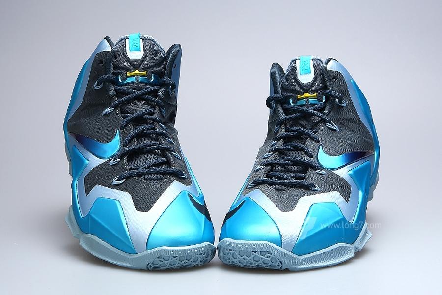 d3e0d27b2537 ... store nike lebron 11. color armory slate gamma blue light armory blue  style code 616175