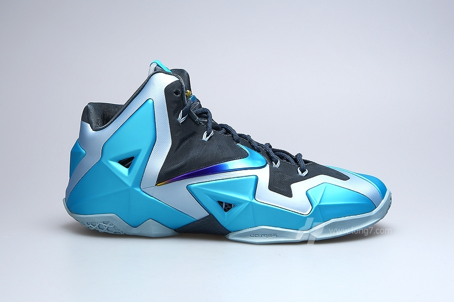 "Nike LeBron XI ""Gamma Blue"" - SneakerNews.com"