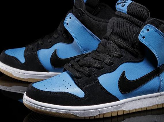 Nike SB Dunk High - Blue Hero - Black